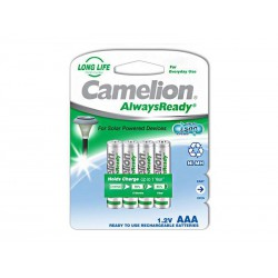 Pack de 4 piles rechargeables Camelion AlwaysReady Micro AAA